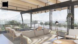 cornetta arquitetura, projetos, arquitetura, casas modernas, estrutura metalica, loft, moderno, concreto