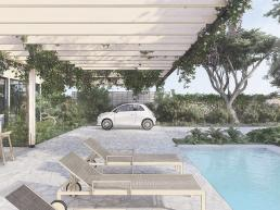 cornetta arquitetura, casas ecologicas, madeira laminada colada, mlc, pergolado, varanda, piscina