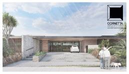 cornetta arquitetura, casas modernas, estruturas metalicas, prefab, steel, houses, garagem aberta