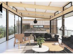 cornetta arquitetura, projetos, casas modernas, madeira laminada colada, mlc, ambientes integrados