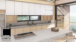 cornetta arquitetura, projetos, casas modernas, madeira laminada colada, mlc, cozinha conjugada