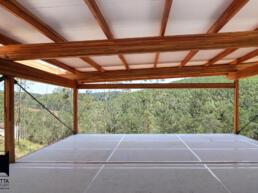 obra seca, contrucao seca, casa ecologica, sustentabilidade, madeira, mlc, painel wall