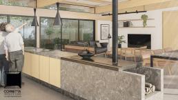casas modernas, casas ecologicas, madeira laminada colada, ambientes integrados