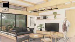 casas modernas, casas ecologicas, madeira laminada colada, ambientes conjugados