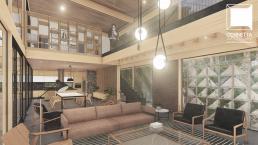 cornetta arquitetura, casas modernas, madeira laminada colada, prefab, glulam, houses