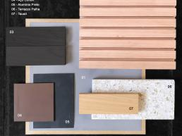 projeto, interiores, design, natural, materials