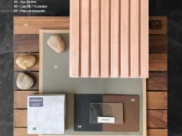 architecture, interior, design, materials, boards