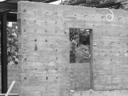 concreto aparente, concreto ripado, estruturas metalicas