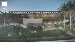 cornetta arquitetura, casas modernas, estruturas metalicas, fachadas, sobrados