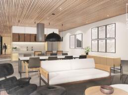 casas modernas, ambients integrados, conjugados, amplitude, madeira